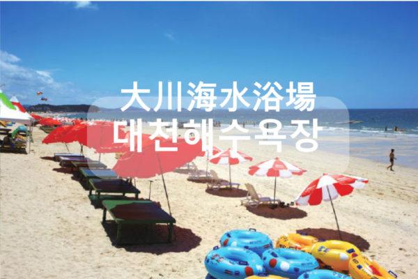【韓國】首爾郊區─和VICTON一起玩樂大川海水浴場