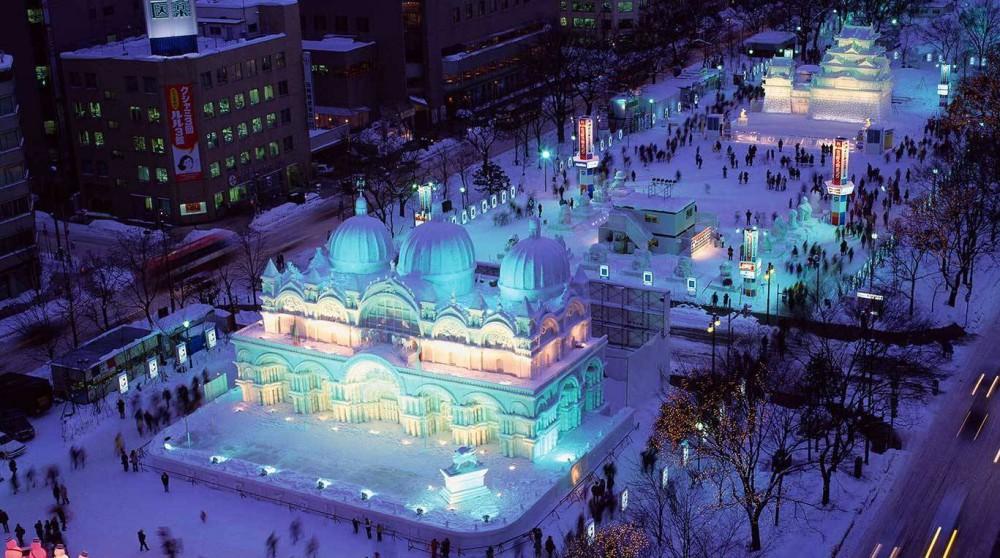 【日本】北海道冬季盛典,為雪白的冰雪世界增添許多風采!