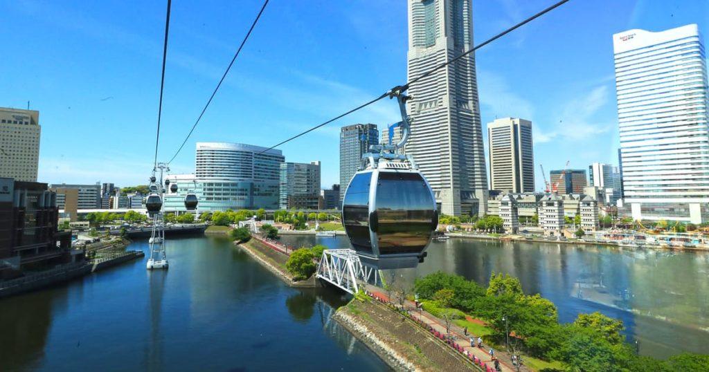 【日本】2021最新開幕-搭空中纜車玩橫濱,橫濱最新玩法報你知!
