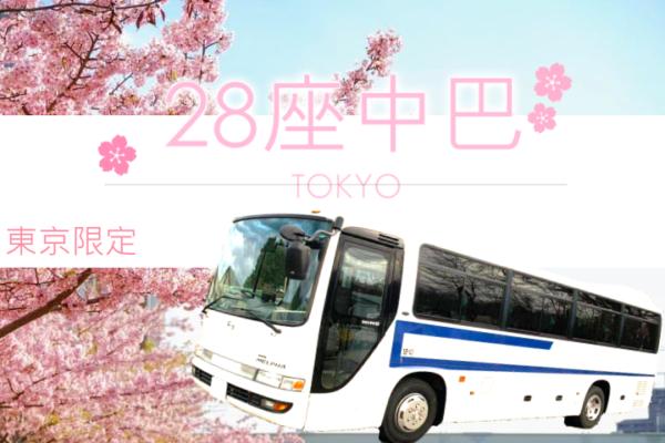 【日本】東京限定—28座中巴含專業中文司機!