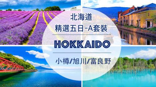 【日本】北海道精選五日-A套裝,每位佔床者只要台幣22000元起