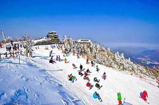 2016/11/26起韓國滑雪自由行~每天直飛首爾,只要18000元起!