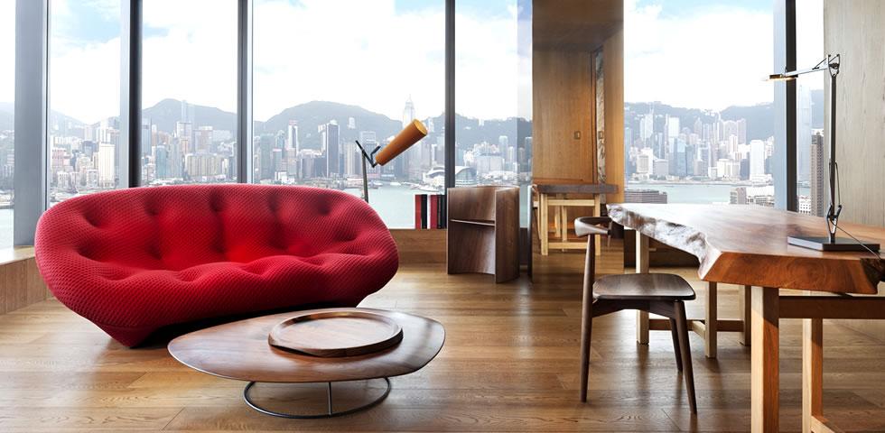香港唯港薈飯店Hotel Icon頂級設計景觀飯店~必住!