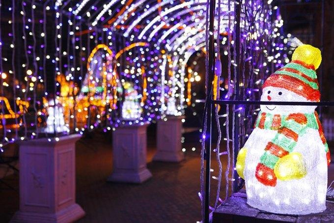 白色戀人公園耶誕燈飾