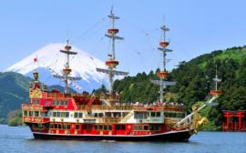 箱根一日行程~不藏私分享!帶您上山搭纜車看遍箱根美景、搭海盜船乘風破浪!
