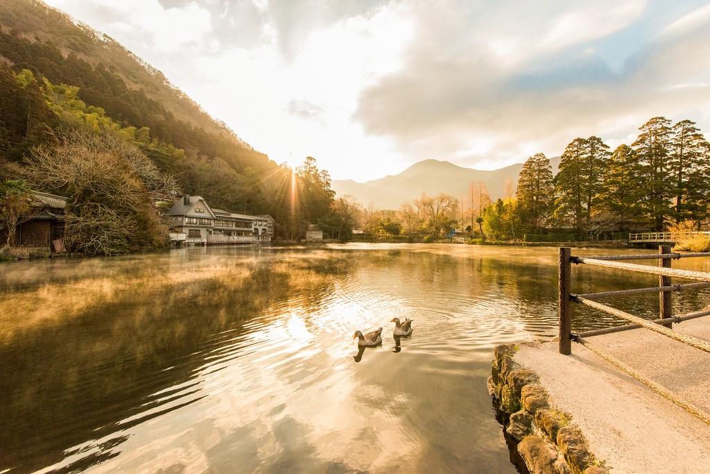 前往被日本女性票選為最愛的夢幻度假勝地──湯布院