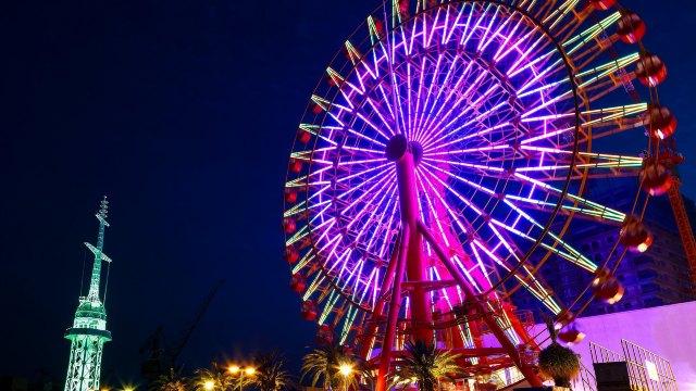到神戶吃牛排、六甲山百萬夜景一日遊