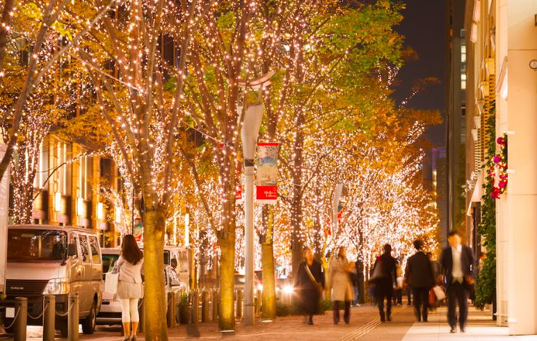 東京聖誕必去景點,在東京街頭感受~聖誕氛圍!耶誕燈海浪漫特輯~