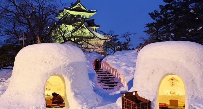 二月限定!橫手雪祭「雪窯節」