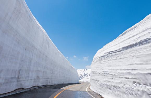 『一日北陸』立山雪牆+金澤