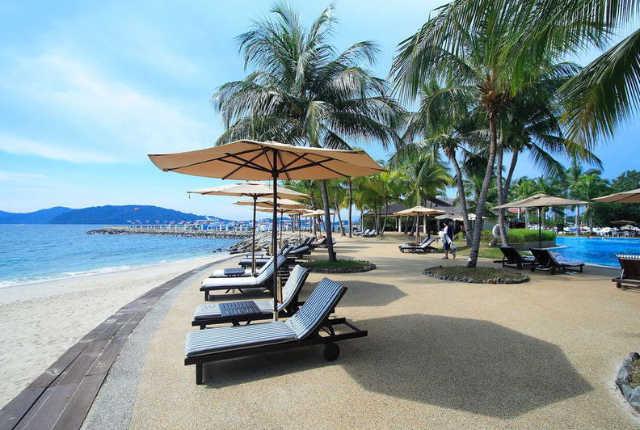 【馬來西亞沙巴】太平洋絲綢酒店 (The Pacific Sutera Hotel)