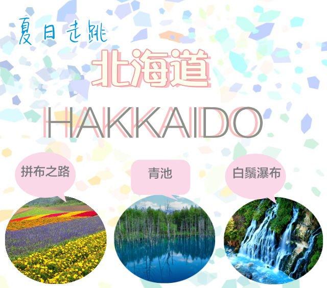 不一樣的北海道——夏日走跳「美瑛」