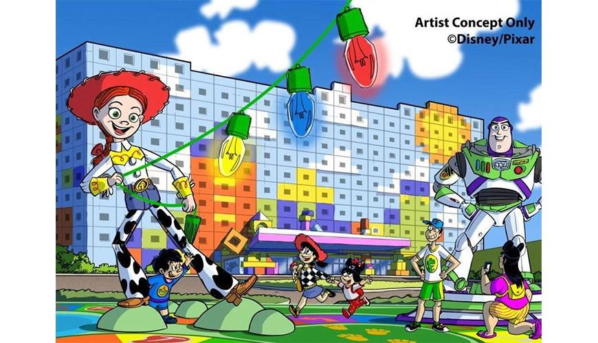 【日本】東京迪士尼最新設施「美女與野獸」!同場加映:玩具總動員主題飯店!