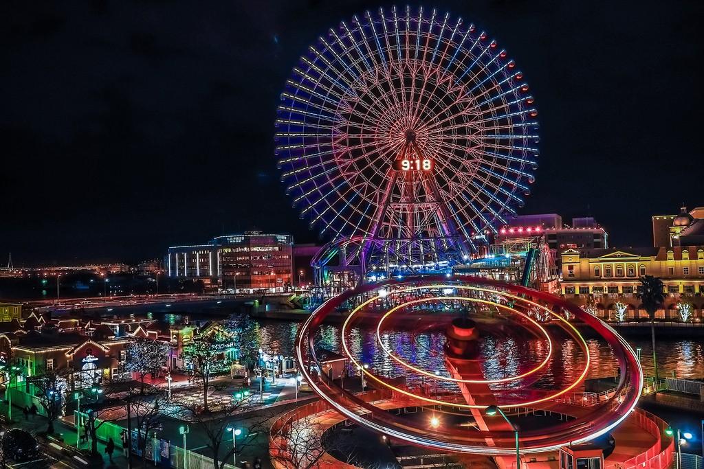 【日本】魅力橫濱~一探最古老車站、太空樂園、泡麵博物館!