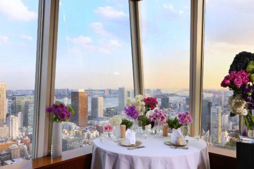 【日本】想在東京來場浪漫的燭光晚餐?六間超享受的豪華景觀餐廳!